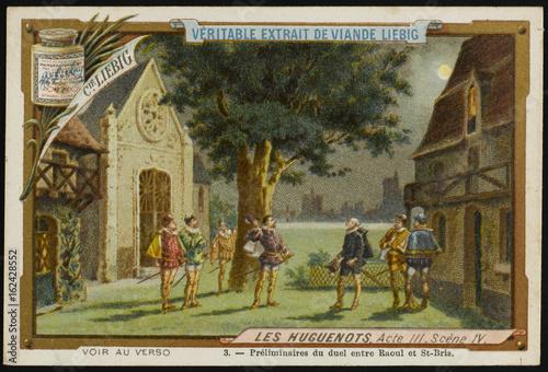 Photo  Meyerbeer - Huguenots. Date: 1836