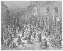 Dudley Street - Slum - 1870. D...