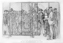 Immigrants Arriving At Ellis Island  New York. Date: 1903
