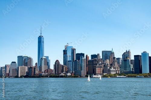 Fototapeta New York skyline i Lower Manhattan, Stany Zjednoczone