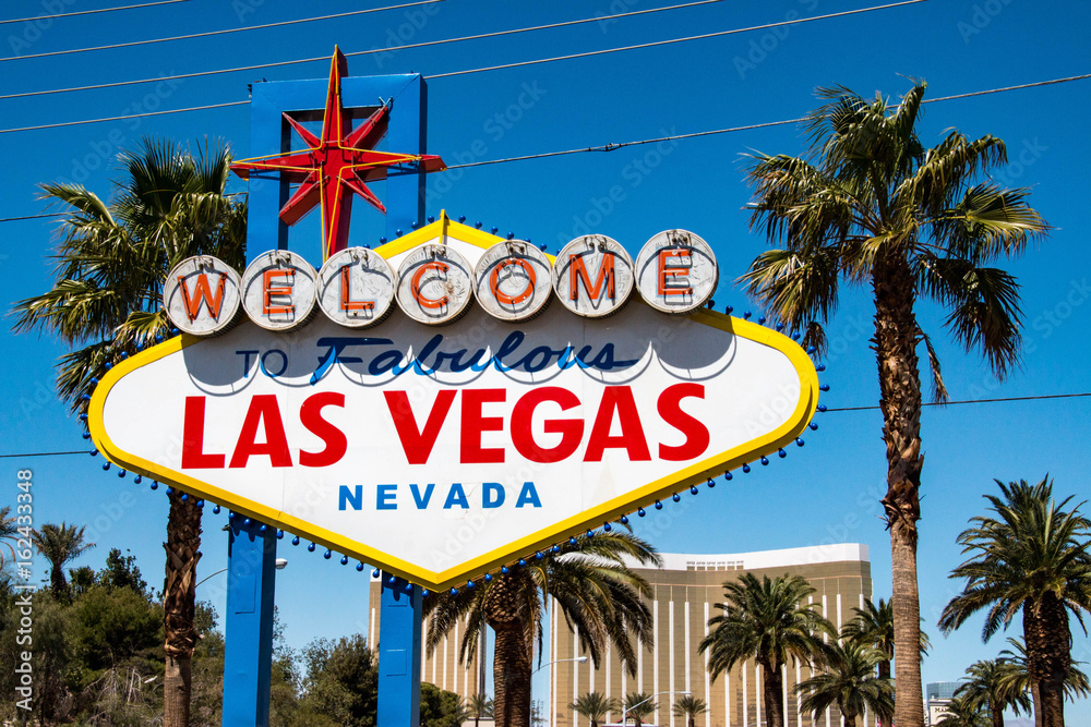 Photo & Art Print Welcom to Las Vegas sign, United States | EuroPosters