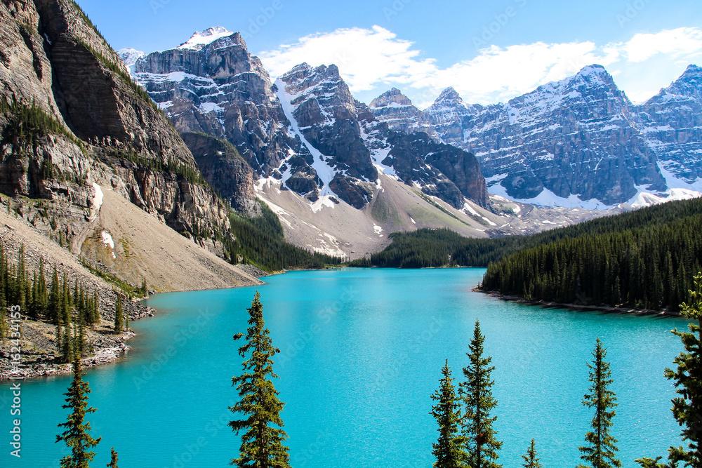 Wall Stickers Moraine Lake Banff National Park Canada Nikkel Art