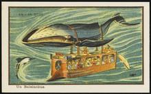 Futuristic Whale Bus. Date: 1899
