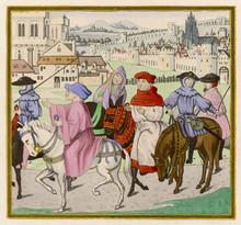 Canterbury Pilgrims On The Roa...