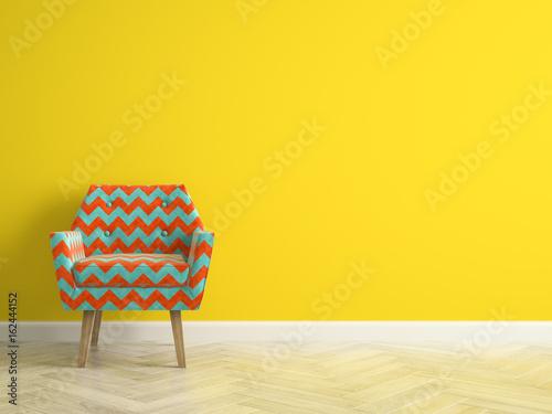 Fotografie, Obraz  Interior modern design room 3D illustration