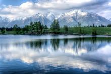 Canmore, Alberta, Canada Lake