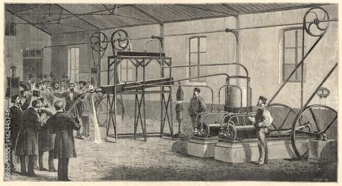 Photo  Pictet - Gas Experiment. Date: December 1877