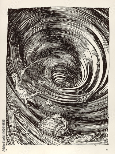 Photo  A Descent into Maelstrom. Date: 1841