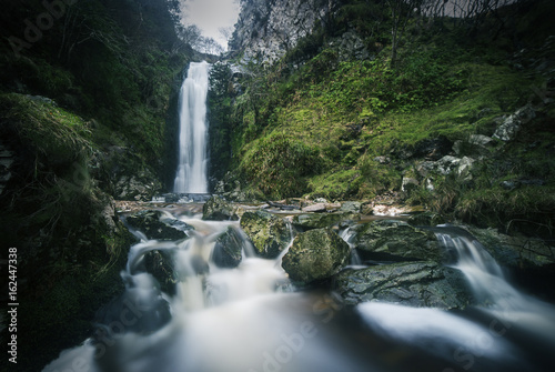 Foto op Canvas Watervallen Glenevin Waterfall in Clonmany, Ireland.