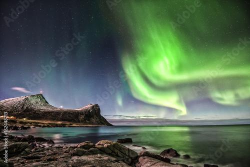 Poster Aurore polaire aurura borealis