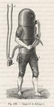 Klingert's Diving Suit. Date: 1797