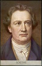 Goethe - Anon - Postcard. Date...