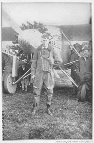 Obraz Lindbergh Flying Clothes. Date: 1902 - 1974 - fototapety do salonu
