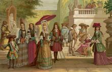 French Nobles 17th Century. Da...