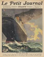 Titanic  France Tribute. Date: 1923
