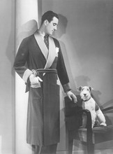 Man In Dressing Gown. Date: 19...