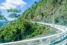 La Farola Road Between Guantan...