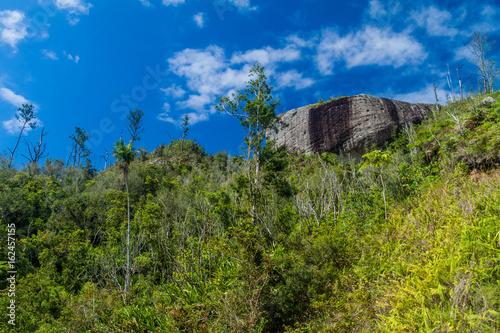 Photo  La Gran Piedra (Big Rock) in Sierra Maestra mountain range near Santiago de Cuba