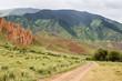 Assy plateau. Kazakhstan Mountains.