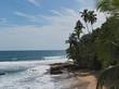 Beach in the east of Puerto Viejo de Talamanca, Costa Rica