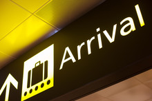 Arrival Sign In Airport