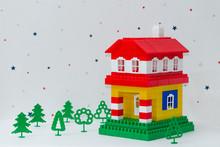 House Made Of Children Constru...