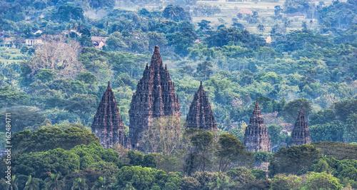 Fotografie, Obraz Beauty Prambanan Temple