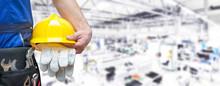 Beruf Industriearbeiter Mit Au...