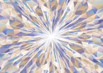 FototapetaCubism background radiation Cool navy blue and beige