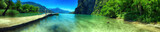 Fototapeta Do pokoju - Pontile sul lago