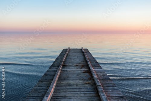 Obraz Wharf over sea - fototapety do salonu
