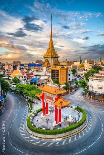 Poster Bangkok Bangkok Thailand Chinatown