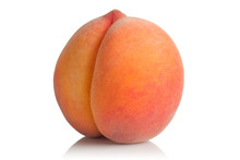 Ripe And Juicy Peach
