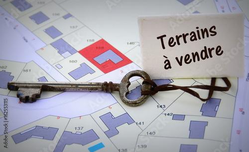 Photo terrains à vendre,concept