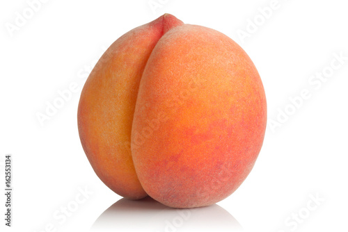 ripe and juicy peach