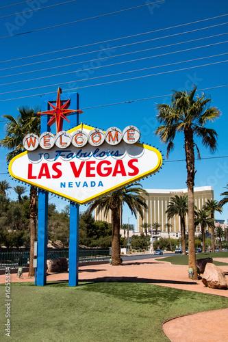 Obraz na dibondzie (fotoboard) Witamy w bajecznym znaku Las Vegas, Nevada