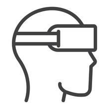 Virtual Reality Glasses Line I...
