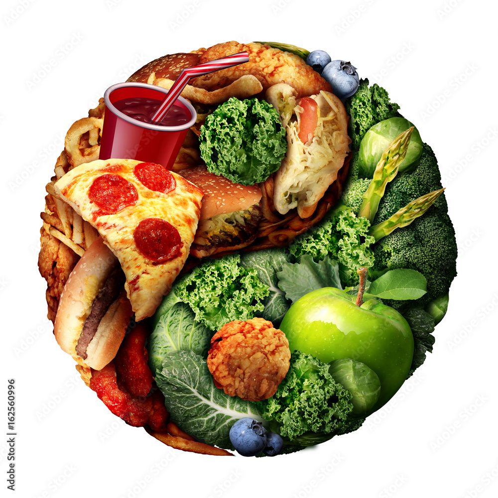 Fototapety, obrazy: Nutrition And Diet Balance