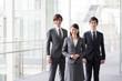 portrait of asian businessteam in office