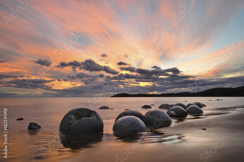 Tablou Canvas Moeraki boulders