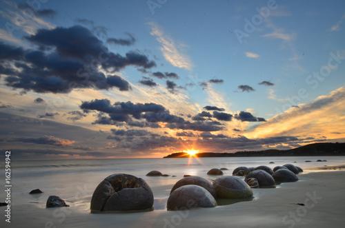 Fotografia, Obraz Moeraki boulders