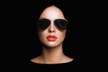 Beautiful Young Woman With Sunglasses