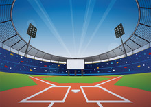 Baseball Stadium Background