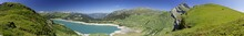 Lac Et Barrage De Roselend, Savoie, France