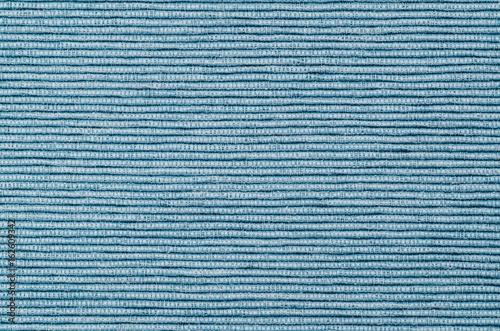 Zdjęcie XXL niebieski len tekstura tło poziome w linie