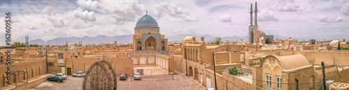 Fotografie, Obraz  Yazd panorama view