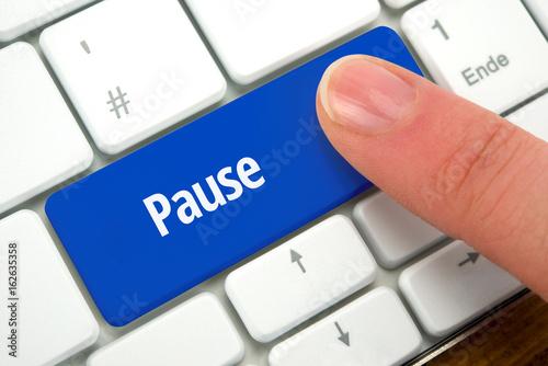 Fotografie, Obraz  Pause