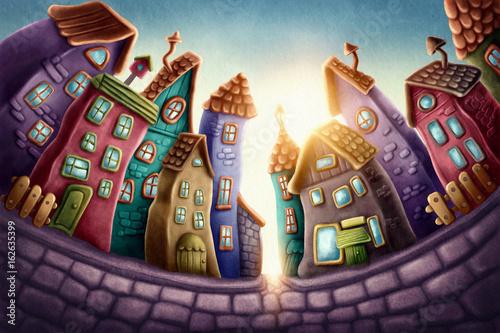 Fotografía Magic town