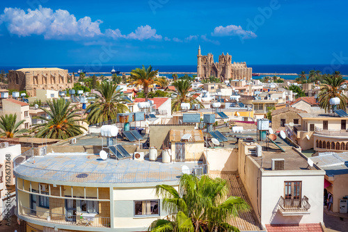 Staande foto Praag A view of Famagusta town looking towards the sea. Cyprus
