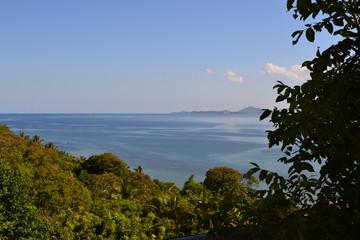 Fototapeta na wymiar ocean view in thailand
